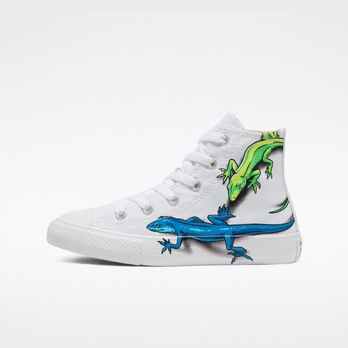 Кеды Converse Lizards Chuck Taylor All Star High Kids 667943C